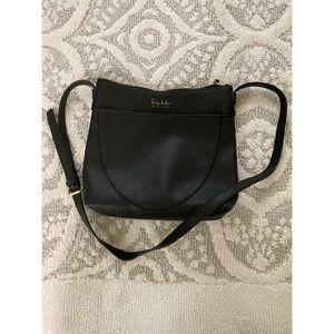 Nicole Miller black Crossbody messenger bag